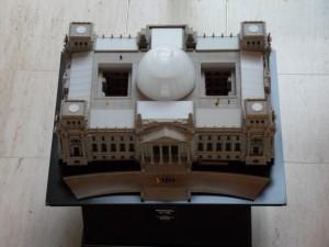 modellino parlamento