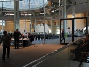 interno parlamento tedesco