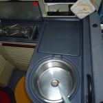 Cucina e lavello Dehler