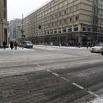 Incrocio Friedrichstrasse Berlino
