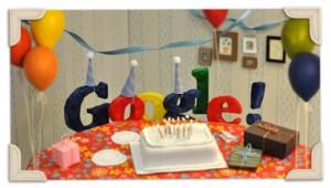 tredicesimo compleanno google